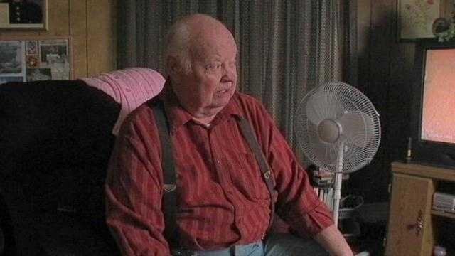 A disabled, elderly war veteran shoots an intruder trying to break into his Muskogee home.