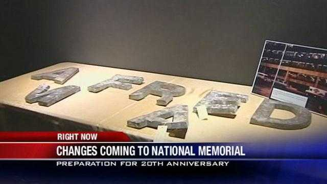 KOCO's Naveen Dhaliwal has your first look at renovations at the Oklahoma City National Memorial and Museum.