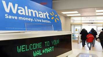 Walmart will begin its first sale at 6 p.m. Thursday and it will feature items with a one-hour guarantee for those in line before 7 p.m. Its second sale will begin at 8 p.m. Walmart's final sale will begin at 8 a.m. on Black Friday and also feature new items not in previous sales.