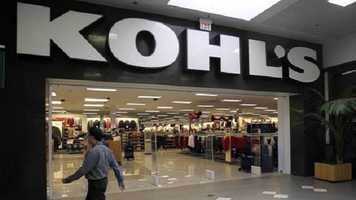 Kohl's will open at 8 p.m. on Thursday. They are offering over 500 Black Friday deals and for every $50 spent customers will receive $15 in Kohl's cash.