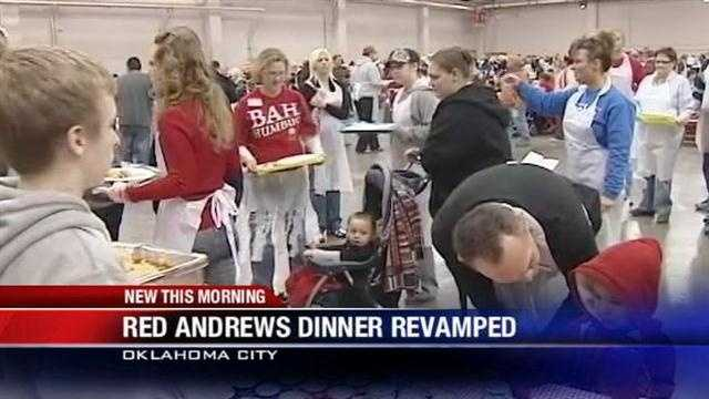 The Red Andrews Dinner is back on after some help from the community.