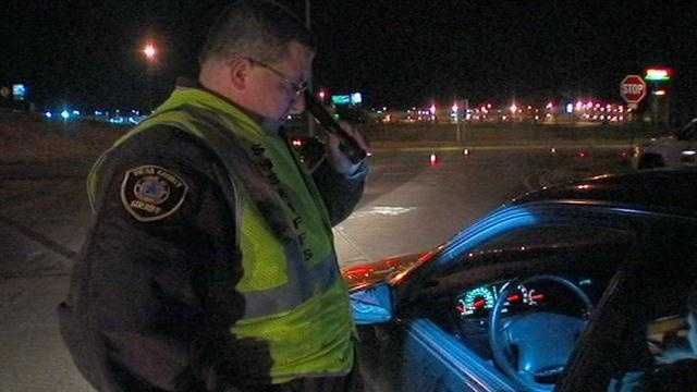 Law enforcement agencies across the state are creating checkpoints to stop drivers to check for current car insurance coverage.