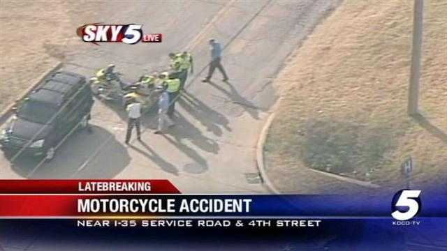 Man hurt in Moore motorcycle accident