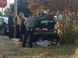 Three other teens were taken to a local hospital after the crash between a white sedan and a green SUV, which happened at Northwest 122nd Street and Fox Run at about 3:45 p.m.