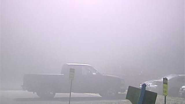 Dense fog affects OKC morning commute