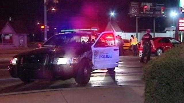 An Oklahoma City police officer is okay after colliding with a driver at Northwest 23rd Street and Pennsylvania Avenue.