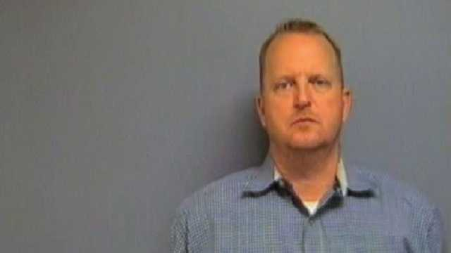 Donald Stobaugh, 49, has been charged with misdemeanor assault on his son's principal. Click here to read the full story on KOCO.com.