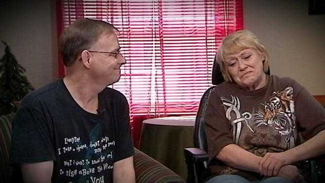 Two nursing home residents marry