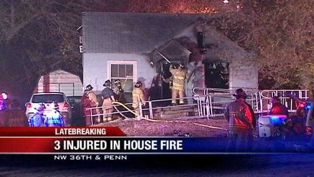 Mother, 2 sons burned in house fire