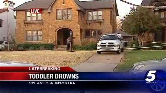 Police investigating drowning of OKC toddler