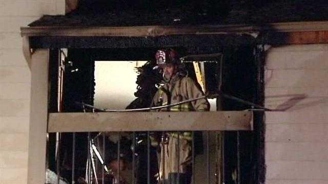 NW OKC apartment fire displaces four families