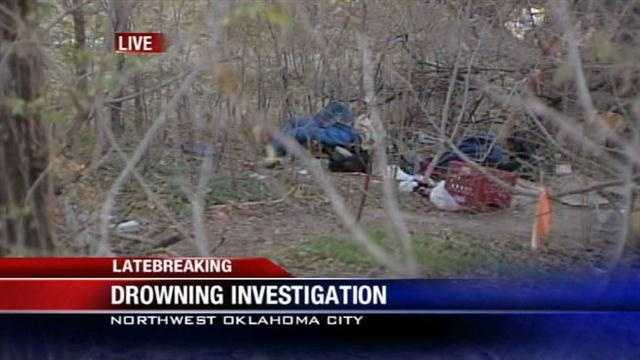 Drowning investigated near downtown Oklahoma City