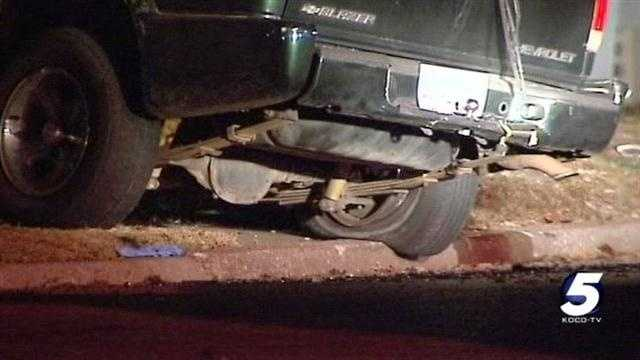 Police: Robbery suspect dies in OKC crash