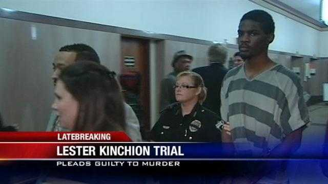 Kinchion pleads guilty to killing parole officer