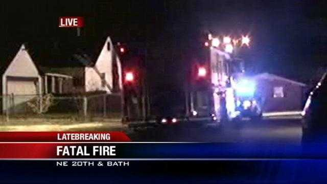 1 dead in northeast Oklahoma City house fire
