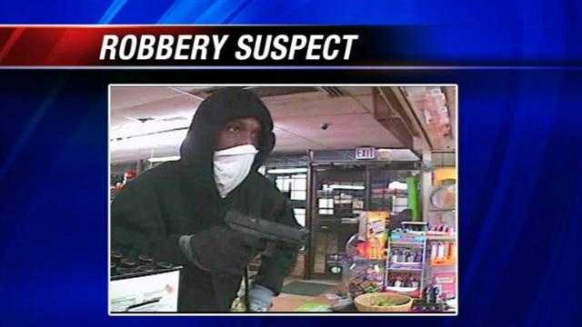 Police searching for convenience store robber