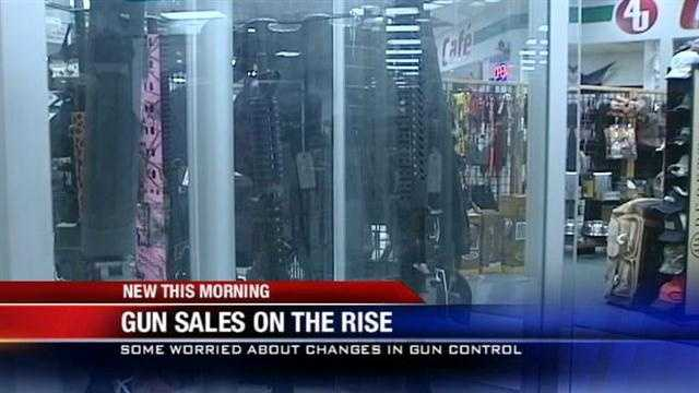 Gun sales on the rise in Oklahoma, experts say