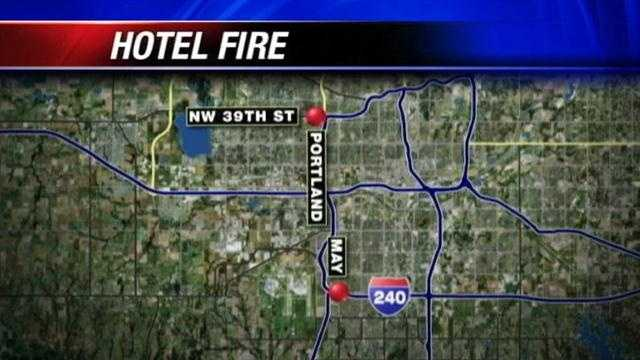 Sprinklers credited with dousing hotel fire