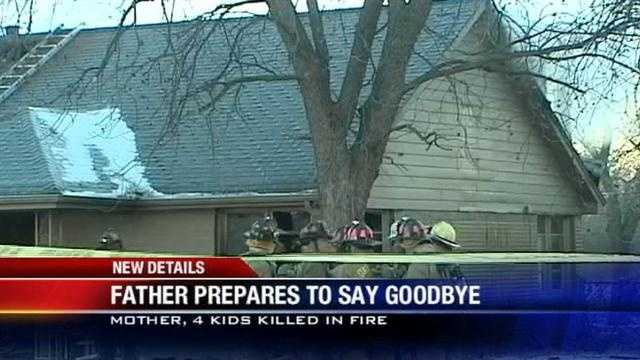 Funerals held for mother, kids killed in house fire