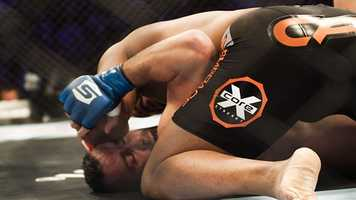 Cormier used his wrestling experience to display his ground-and-pound skill-set.