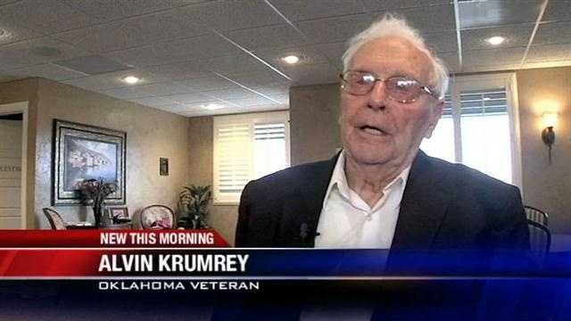 An Oklahoma veteran has been reunited with a piece of history he lost decades ago.