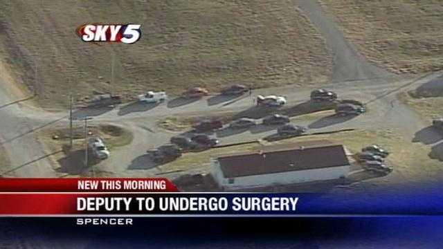 Accidental shooting: Deputy to undergo surgery