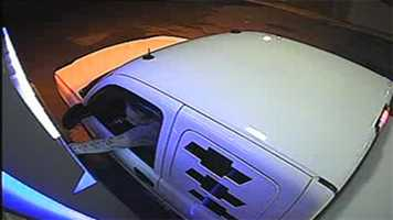 Police are also looking for Burton's white Chevrolet pickup truck. The vehicle is described as a white 2004, extended cab Chevrolet pickup truck with license plate No. 088AXL. The truck has white, louvered taillight covers with white louvered covers over the rear side windows, a NASCAR license plate on the front bumper, a cow bell hanging from the rear bumper and a hard, white bed cover.