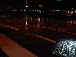 Much of the state saw rain overnight Thursday.
