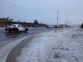 Crash at Interstate 240 and Sunnylane
