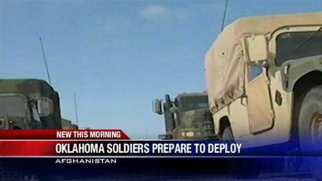 150 Oklahoma soldiers prepare to deploy to Afghanistan