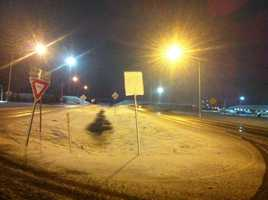 Photo by Dan Thomas, Elk City (early-morning snow)
