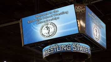 "The wrestling championships took place over the course of three days at the ""Big House"" from Thursday-Saturday. Hundreds of wrestlers competed until there was only one in each weight class for each attending to claim the right to be called the state champion."