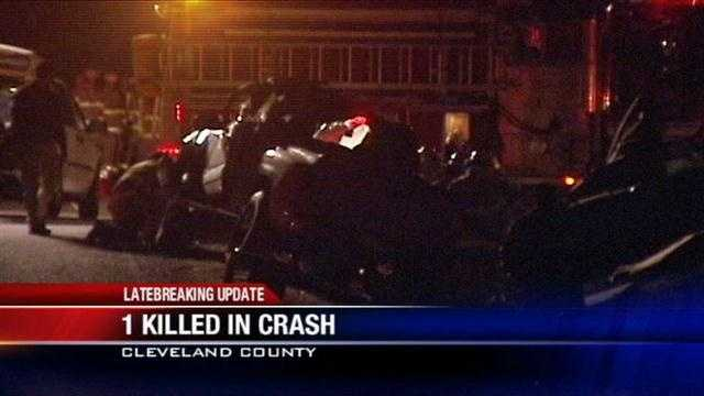 One dead after wild overnight crash