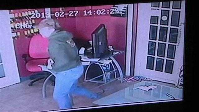 Investigators say they have identified a man who used an American Flag to commit a crime in Tulsa. An employee of a car dealership said he made a sale and the customer paid in cash. The employee then slid the envelope containing $4,000 under a door.