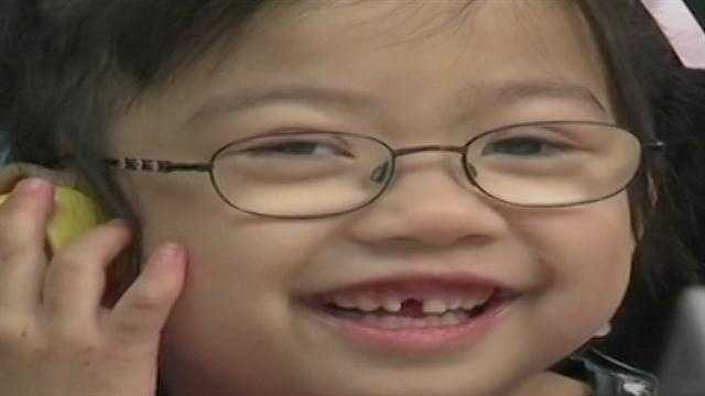 A 5-year-old girl from China is now hearing for the for the very first time. A family in Tulsa adopted the girl in December after a two year-long process. Jayde Scholl's new mother was in a unique position to help the girl.