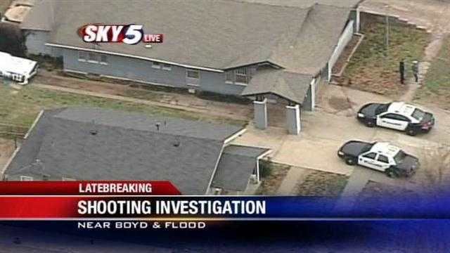 Norman police were called to Boyd Street and Flood Avenue for reports of a possible shooting.