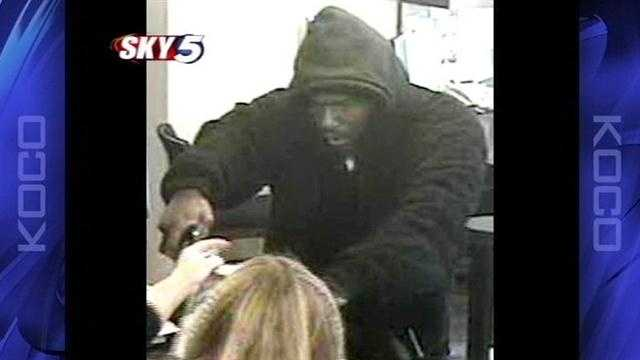 A bank robbery in Moore on Thursday prompted the lockdown of several schools. Police now believe the men involved are serial bank robbers.