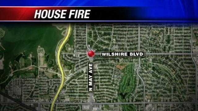 Fire crews investigate overnight house fire