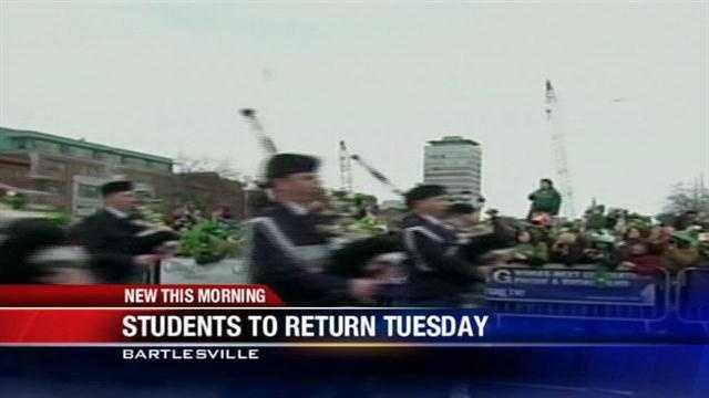 Bartlesville students stuck in Ireland to return Tuesday