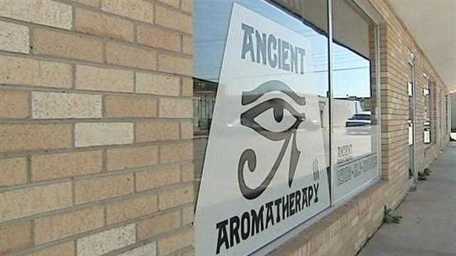The owners of Ancient Aromatherapy on West Gray Street in Norman were arrested on suspicion of selling synthetic drugs.