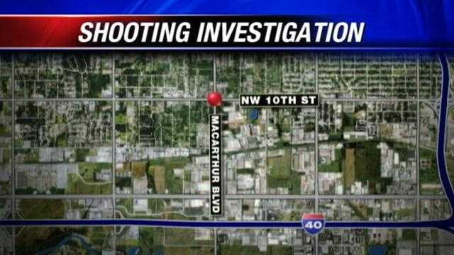 Man shot multiple times drives to hospital