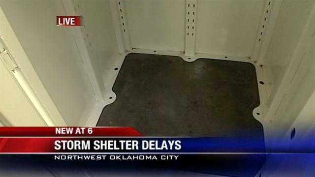 Oklahomans waiting for FEMA to get storm shelters