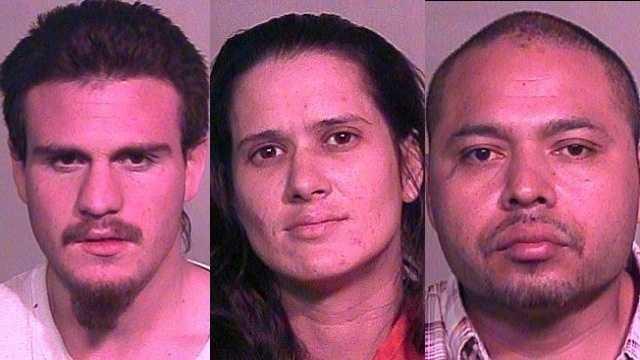 Left: George Chacon, Middle: Samantha Lovejoy. Right: Enrique Martinez.
