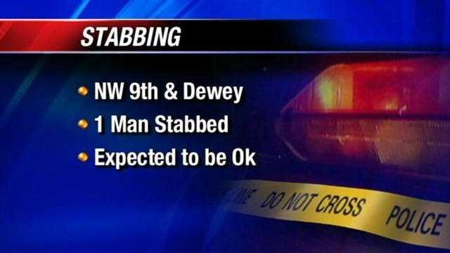 1 stabbed, 2 taken to hospital