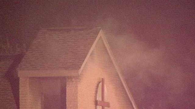 A church catches fire and investigators are calling it suspicious.  Crews responded to the Grace Presbyterian Church near Council and Hefner. Officials say the fire caused about $40,000 in damage.