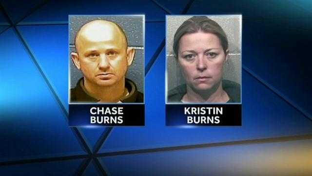 An Oklahoma couple accused of running an illegal gambling operation have turned themselves into Florida authorities. Chase Burns and Kristin Burns are charged in connection to a charity linked to veterans.