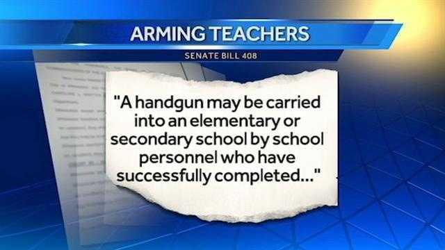 An amendment was added to a senate bill.