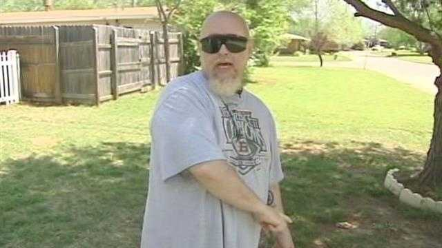 Blind veteran whips attacker in NW Okla City