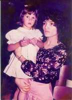 Little Jessica Schambach and Mom!