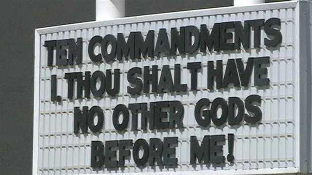 School removes Ten Commandments from classrooms
